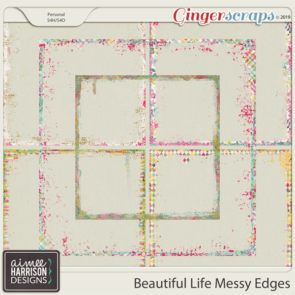 Beautiful Life Messy Edges by Aimee Harrison