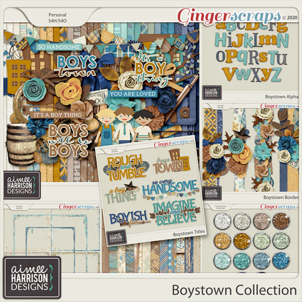 Boystown Collection by Aimee Harrison