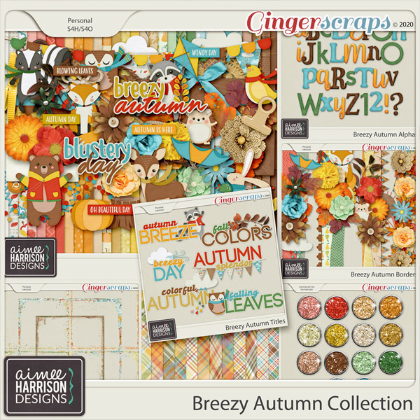Breezy Autumn Collection by Aimee Harrison