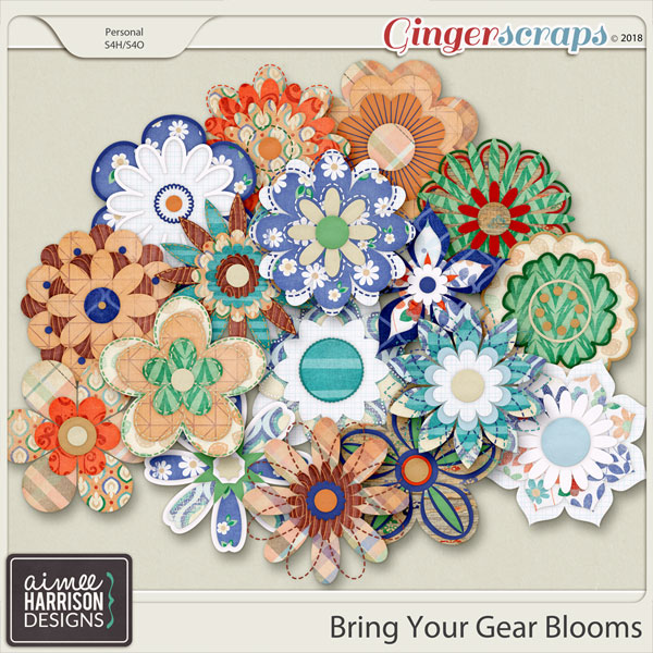 Bring Your Gear Blooms by Aimee Harrison
