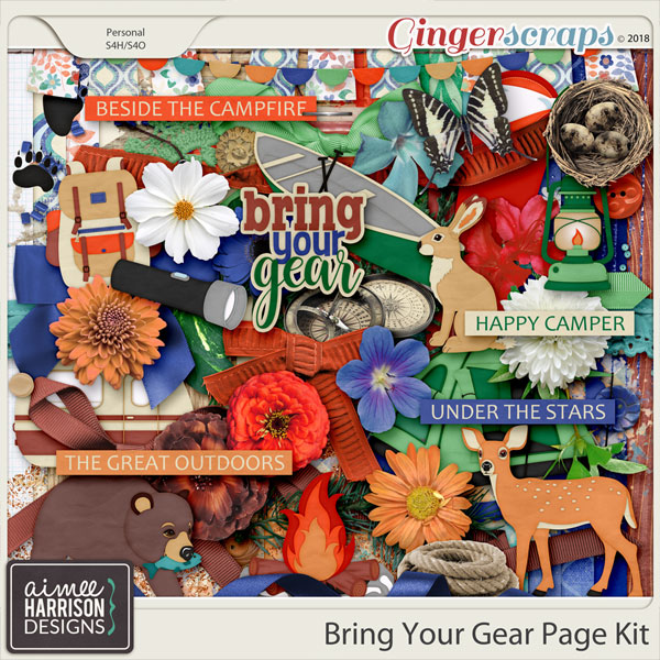Bring Your Gear Page Kit by Aimee Harrison
