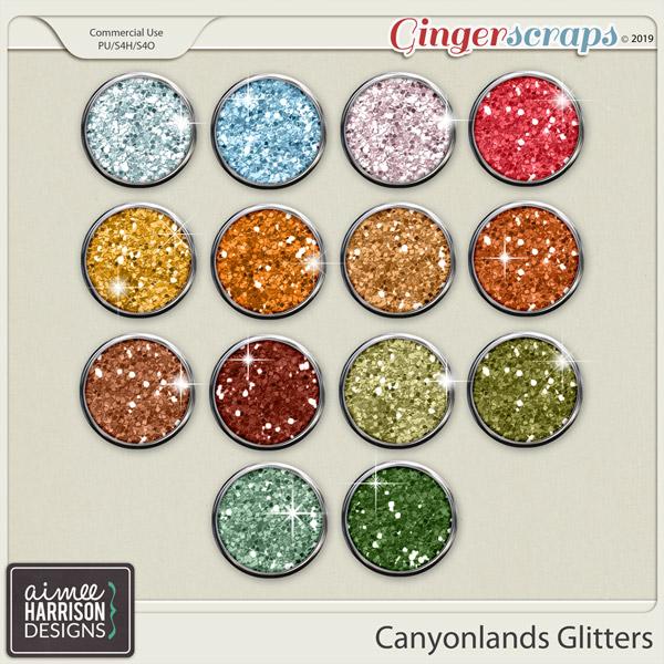 Canyonlands Glitters by Aimee Harrison