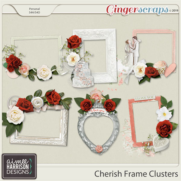 Cherish Frame Clusters by Aimee Harrison