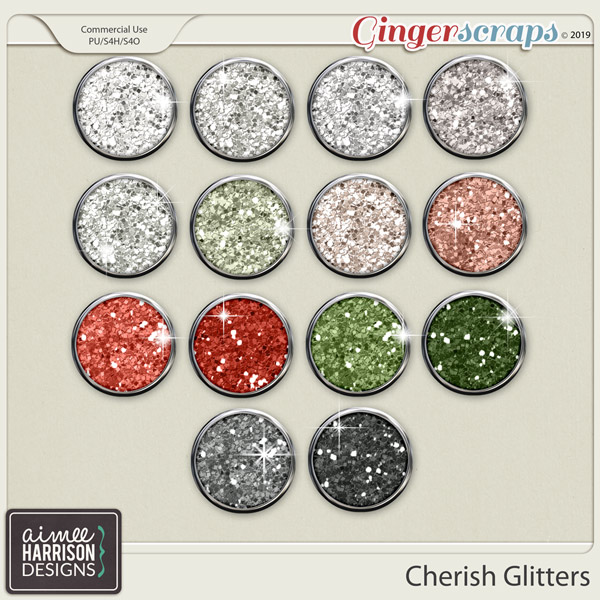 Cherish Glitters by Aimee Harrison