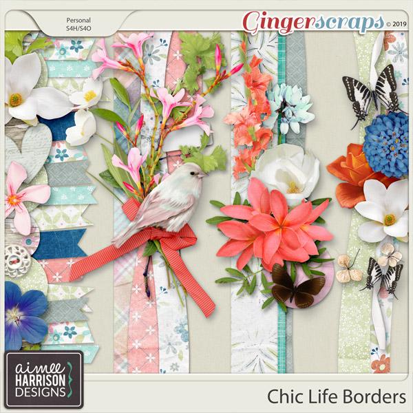 Chic Life Borders by Aimee Harrison