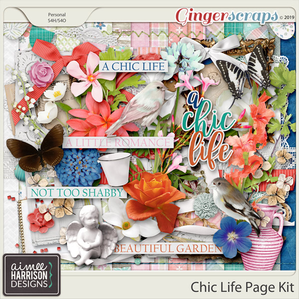 Chic Life Page Kit by Aimee Harrison