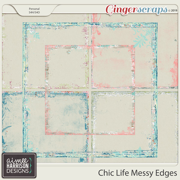 Chic Life Messy Edges by Aimee Harrison