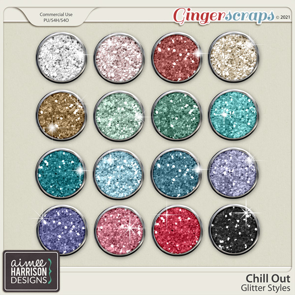 Chill Out Glitters by Aimee Harrison