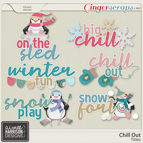 Chill Out Titles by Aimee Harrison