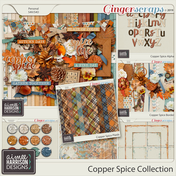 Copper Spice Collection by Aimee Harrison