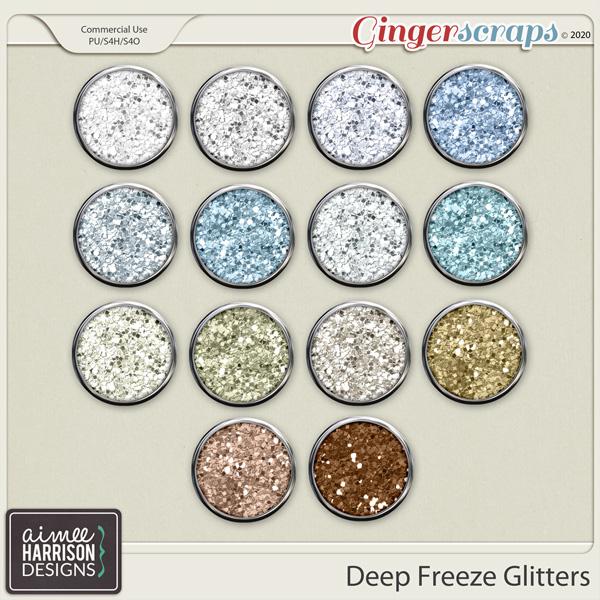 Deep Freeze Glitters by Aimee Harrison