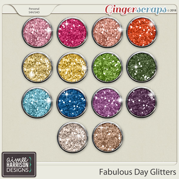 A Fabulous Day Glitters by Aimee Harrison