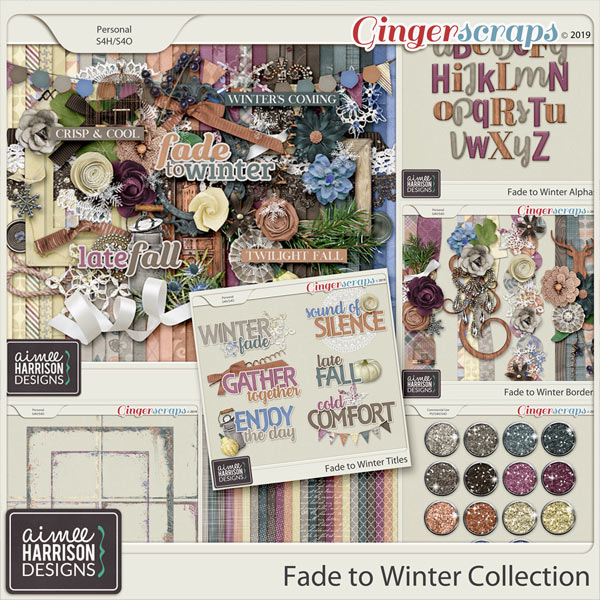 Fade to Winter Collection by Aimee Harrison