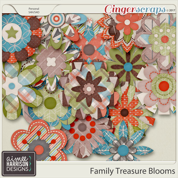 Family Treasure Blooms by Aimee Harrison