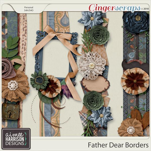 Father Dear Borders by Aimee Harrison