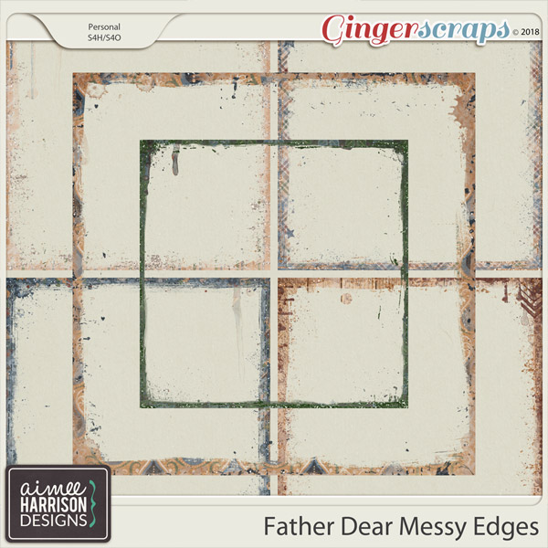 Father Dear Messy Edges by Aimee Harrison