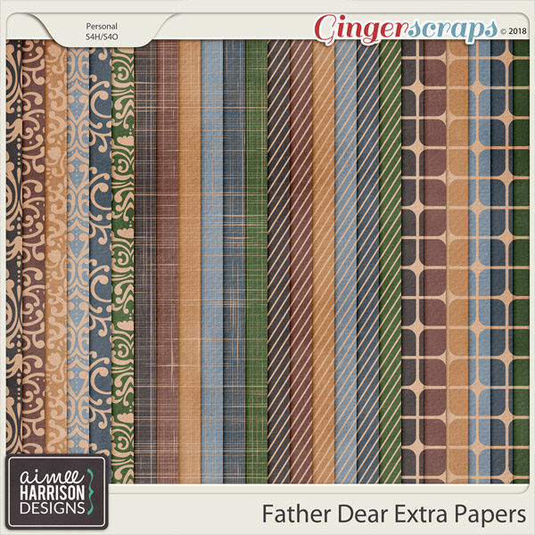 Father Dear Extra Papers by Aimee Harrison