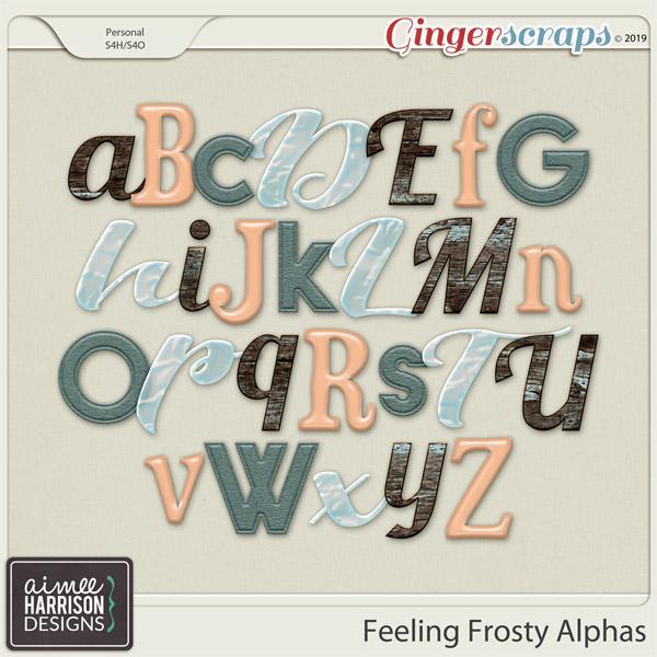 Feeling Frosty Alpha Sets by Aimee Harrison