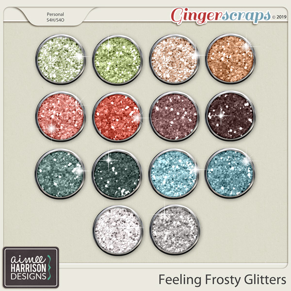 Feeling Frosty Glitters by Aimee Harrison