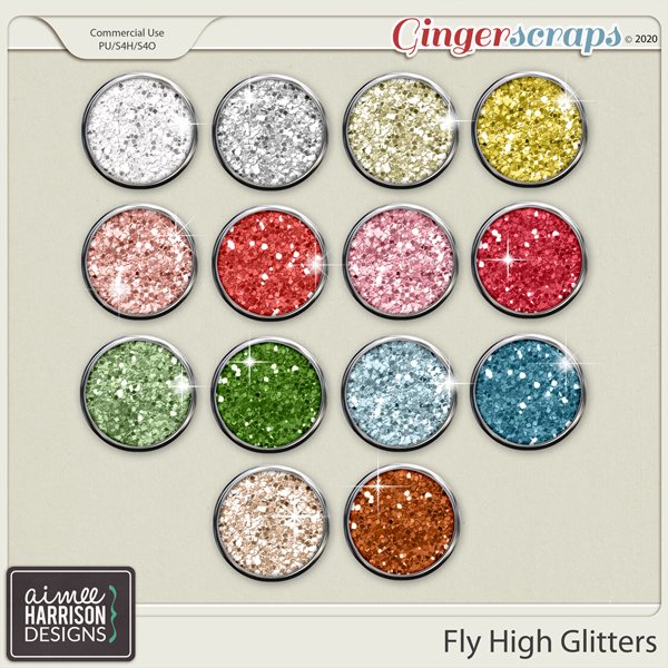 Fly High Glitters by Aimee Harrison