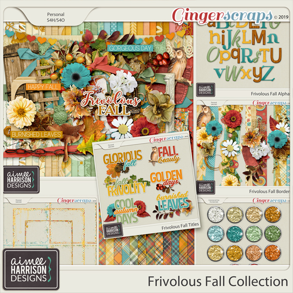 Frivolous Fall Collection by Aimee Harrison