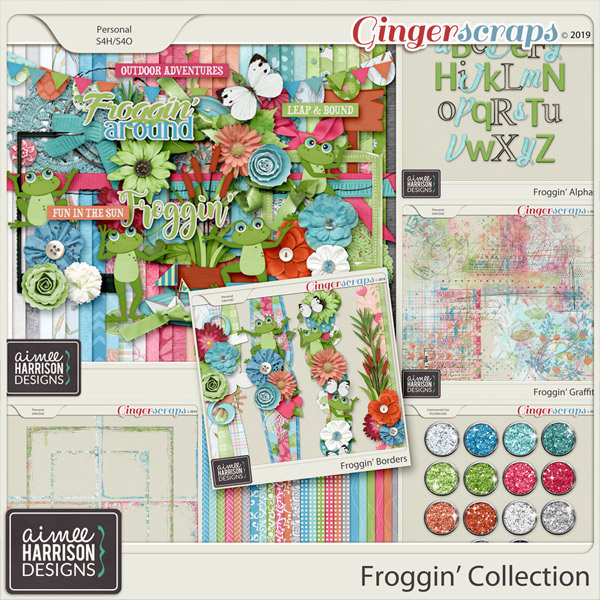 Froggin' Collection by Aimee Harrison