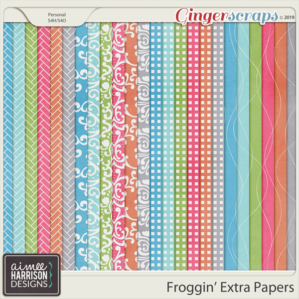 Froggin' Extra Papers by Aimee Harrison