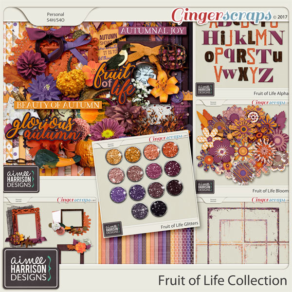 Fruit of Life Collection by Aimee Harrison