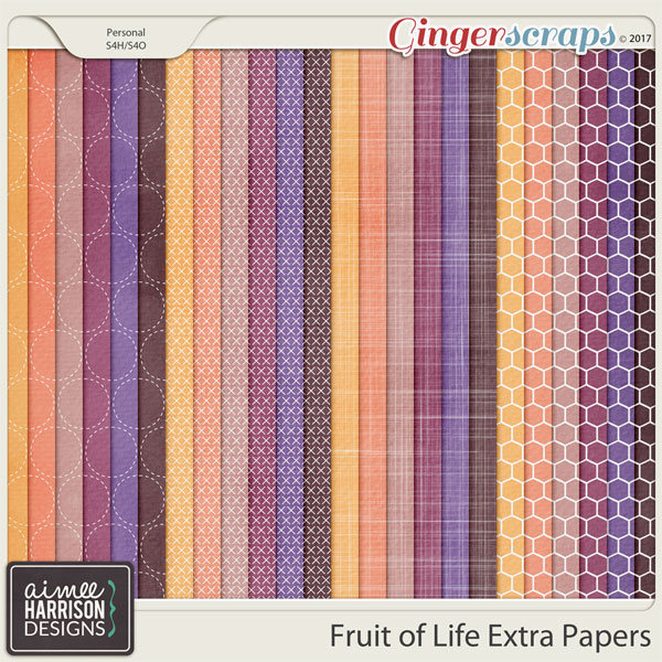 Fruit of Life Extra Papers by Aimee Harrison