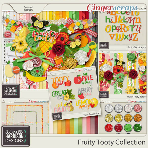 Fruity Tooty Collection by Aimee Harrison