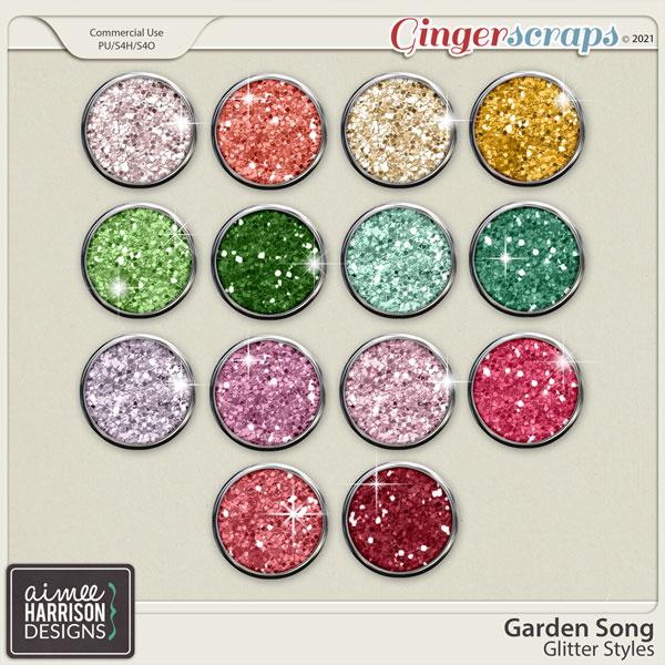 Garden Song Glitters by Aimee Harrison