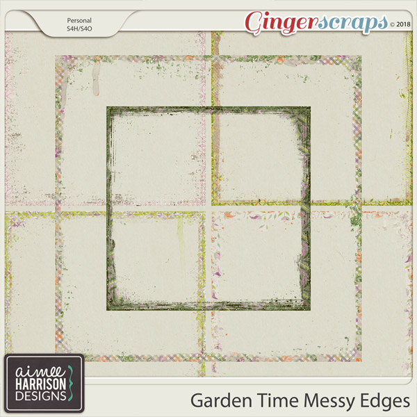 Garden Time Messy Edges by Aimee Harrison