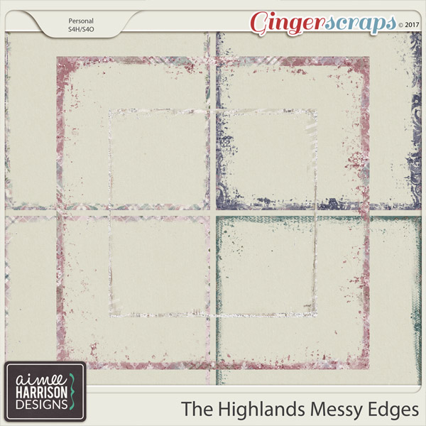 The Highlands Messy Edges by Aimee Harrison