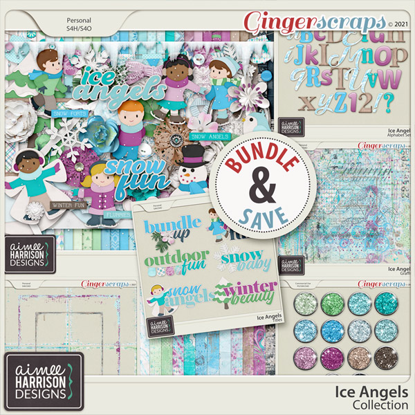 Ice Angels Collection by Aimee Harrison