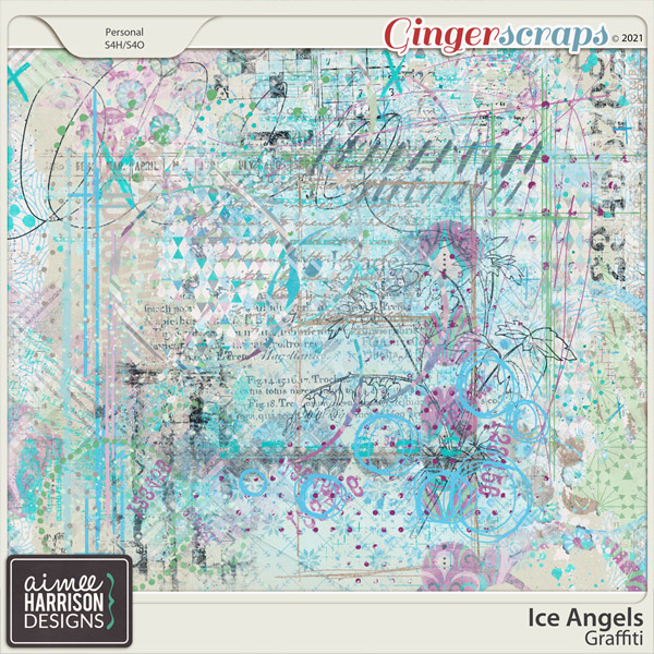Ice Angels Graffiti by Aimee Harrison