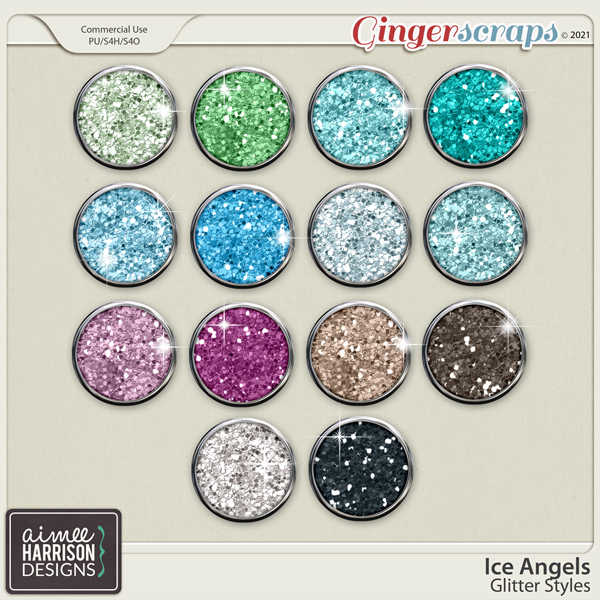 Ice Angels Glitters by Aimee Harrison