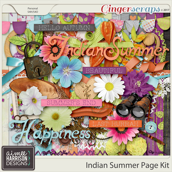 Indian Summer Page Kit by Aimee Harrison