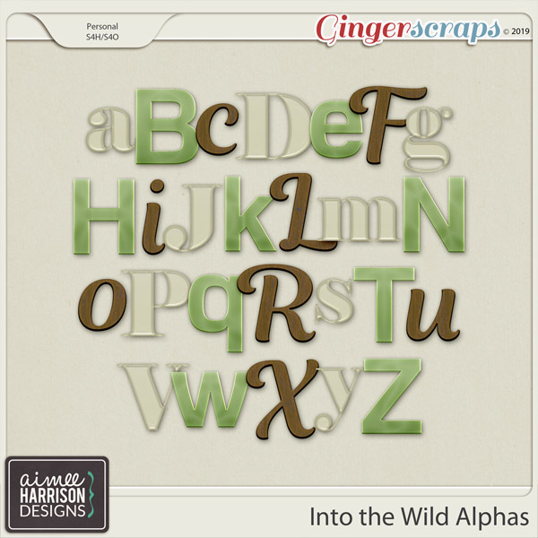 Into the Wild Alpha Sets by Aimee Harrison