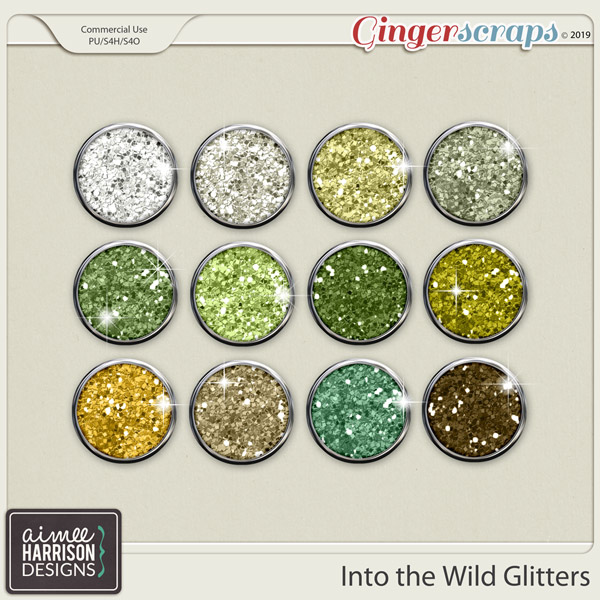 Into the Wild Glitters by Aimee Harrison