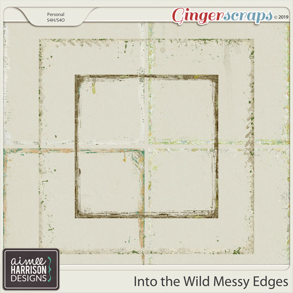 Into the Wild Messy Edges by Aimee Harrison