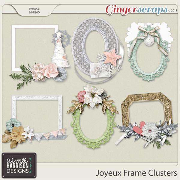 Joyeux Frame Clusters by Aimee Harrison