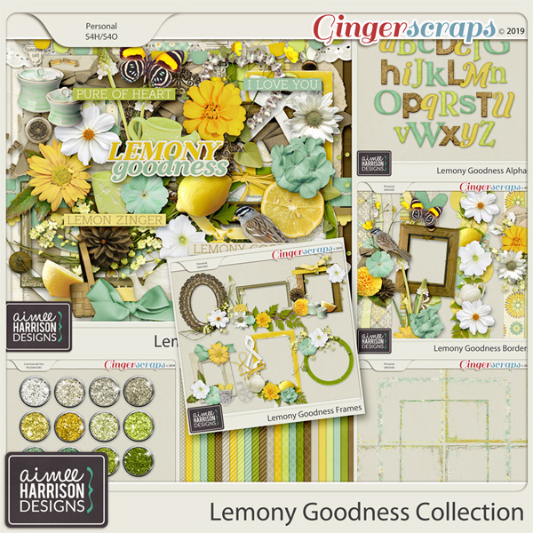 Lemony Goodness Collection by Aimee Harrison