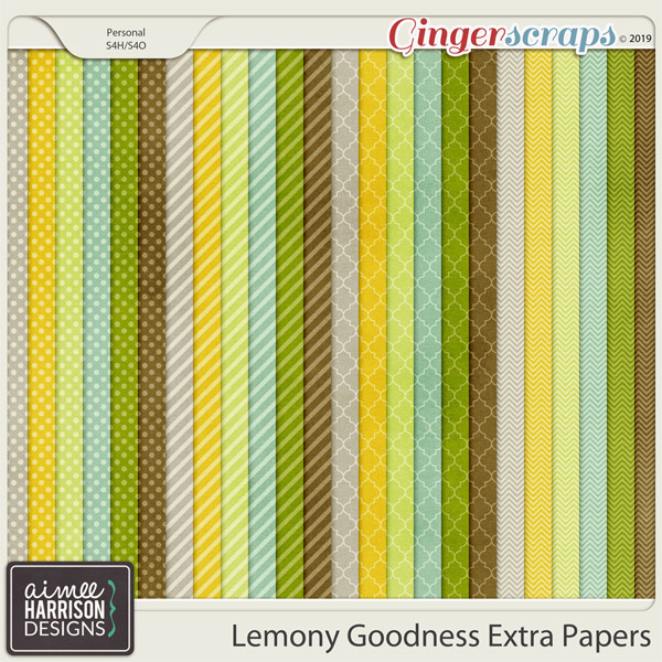 Lemony Goodness Extra Papers by Aimee Harrison