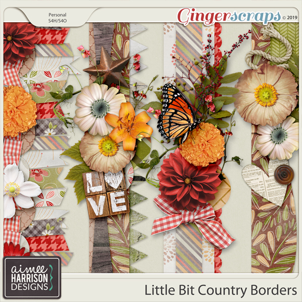 Little Bit Country Borders by Aimee Harrison
