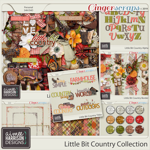 Little Bit Country Collection by Aimee Harrison