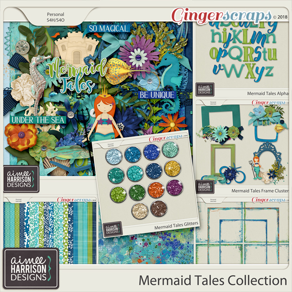 Mermaid Tales Collection by Aimee Harrison