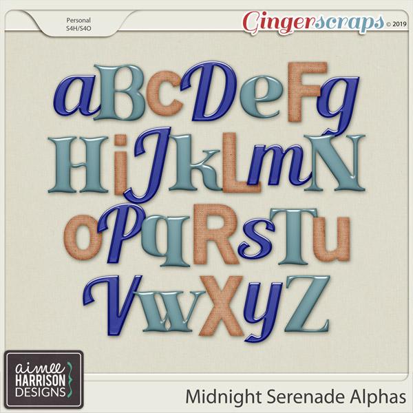 Midnight Serenade Alpha Sets by Aimee Harrison