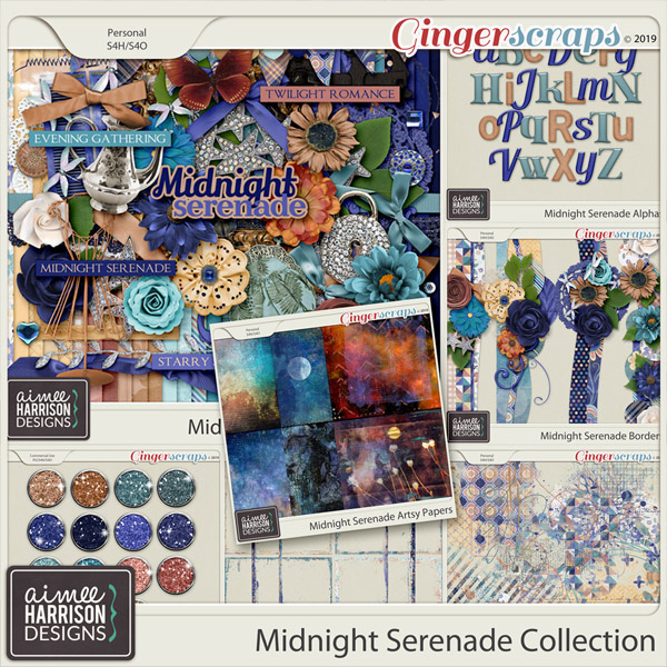 Midnight Serenade Collection by Aimee Harrison