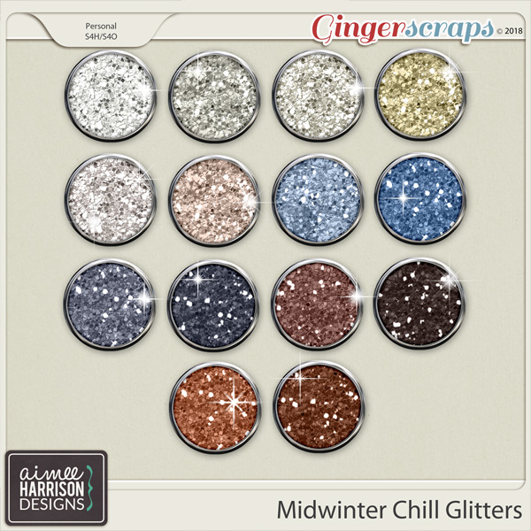 Midwinter Chill Glitters by Aimee Harrison