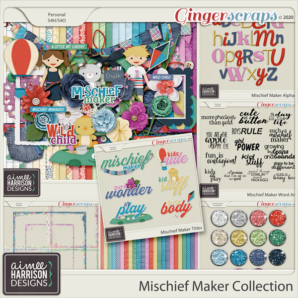 Mischief Maker Collection by Aimee Harrison